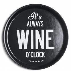 Bricka Wine o´clock 38cm