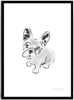 Poster Frenchie 30x40