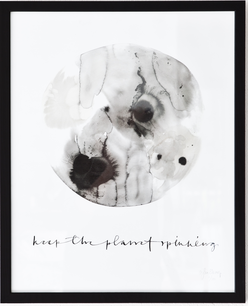 Print Keep the planet 40x50