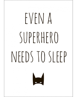 Poster Supersleep 30x40